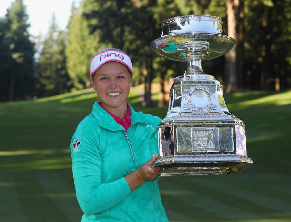 Henderson claims maiden major title with play-off win over Ko at KPMG Women's PGA Championship