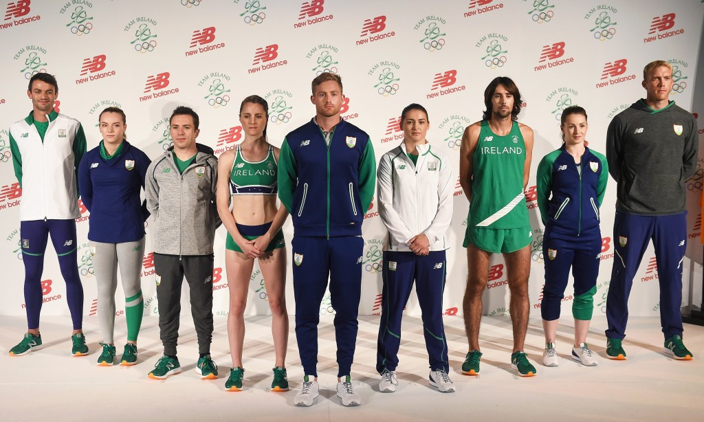 Olympic Council of Ireland launch Rio 2016 kit