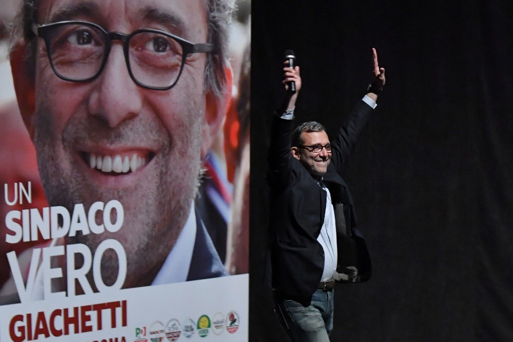 Democratic Party candidate Roberto Giachetti is in favour of Rome's bid for the 2024 Olympic and Paralympic Games