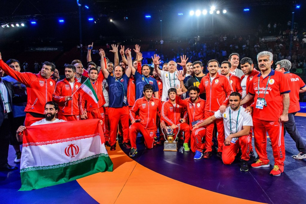 Iran capture fifth-straight UWW Freestyle World Cup title