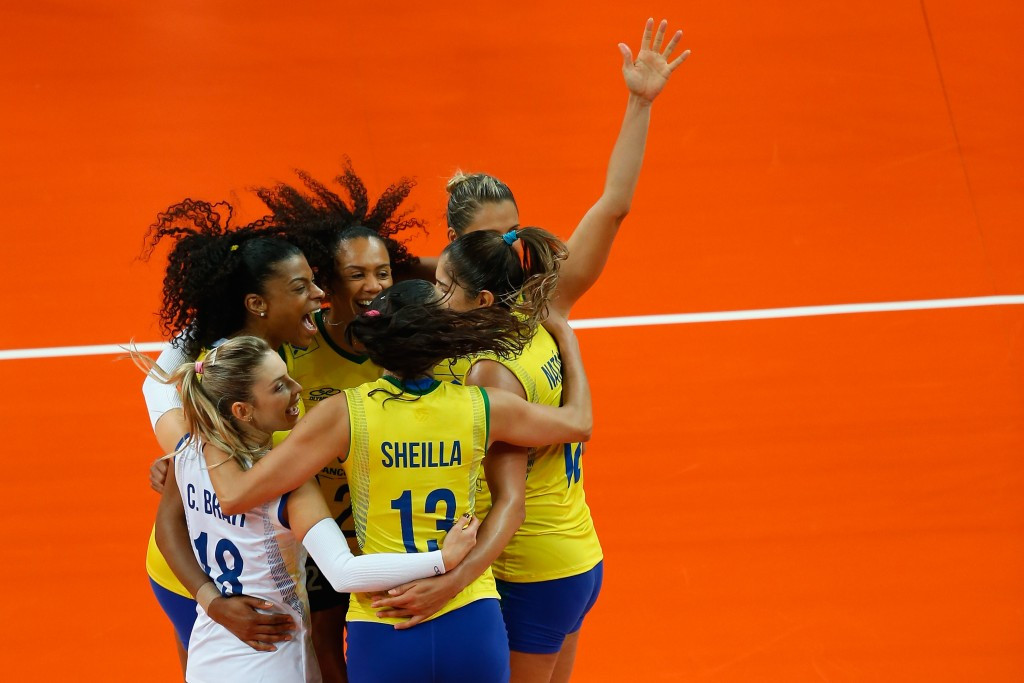 Brazil went through their group in Rio de Janeiro undefeated