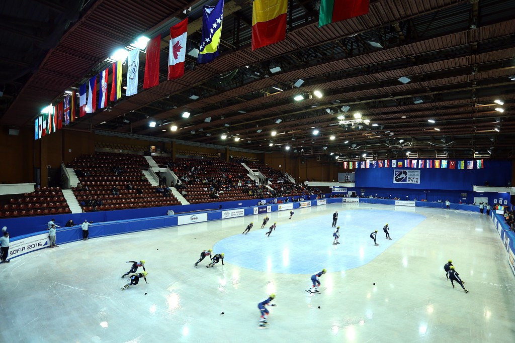 Sofia will host the World Short Track Speed Skating Championships in 2019 ©Getty Images