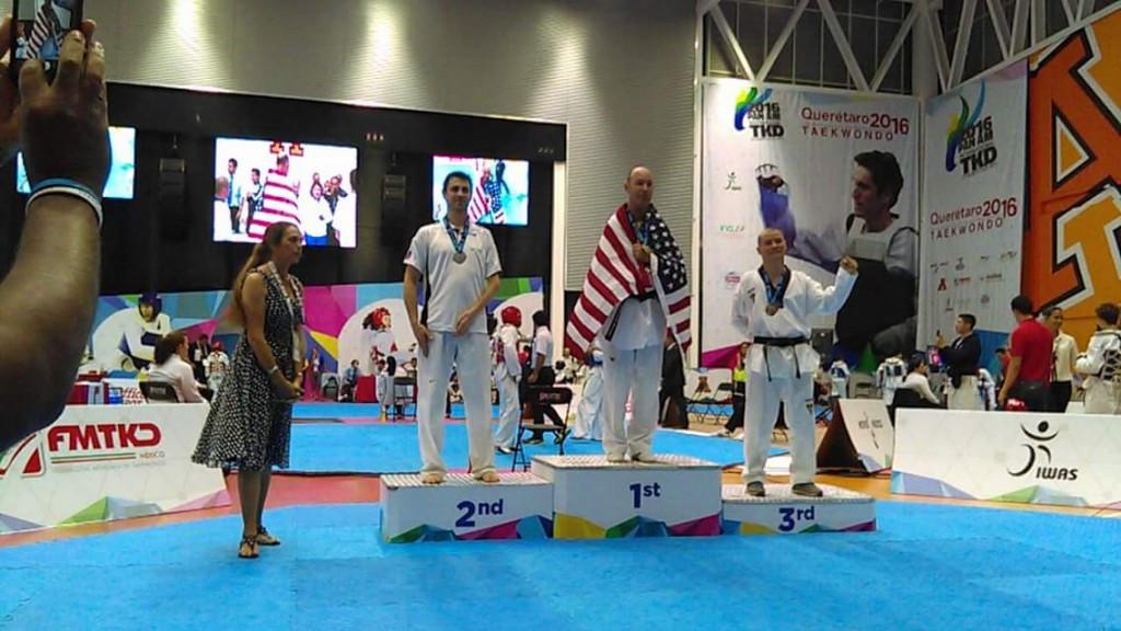 Espinosa strikes gold as US top men's team standings at Pan American Para-Taekwondo Championships
