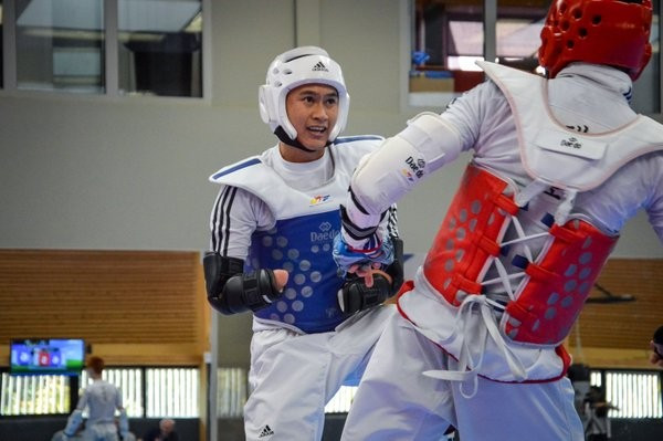 France's Bopha Kong, who was undefeated in 2018, will be the favourite in the men's up to 61kg K43 category at the World Para-Taekwondo Championships ©World Taekwondo