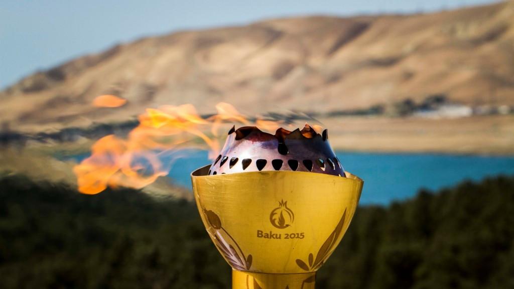 Baku 2015 Flame visits nine European Games venues as host city tour continues