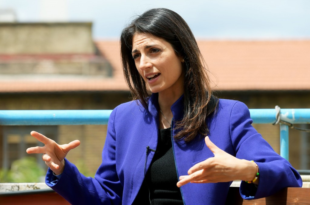 Rome Mayoral candidate Virginia Raggi has said she is open to a referendum on the city's bid to host the 2024 Olympic and Paralympic Games ©Getty Images