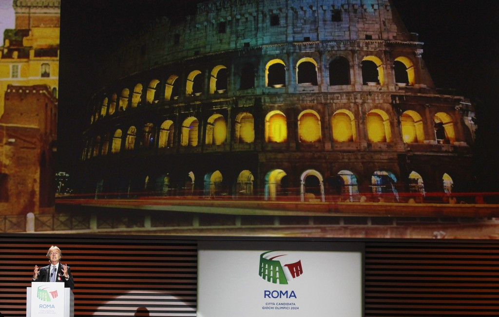 Rome is bidding to host the Olympics for the first time in 64 years
