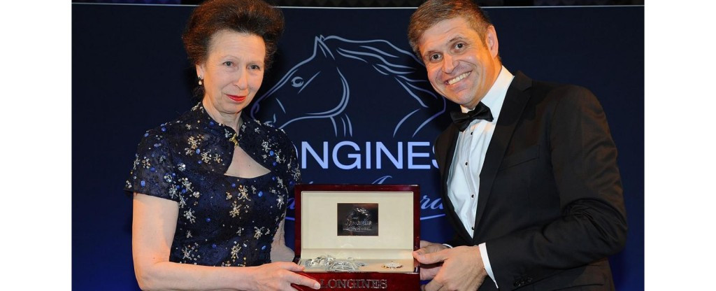 Princess Anne receives Longines Ladies Award for contributions to equestrian