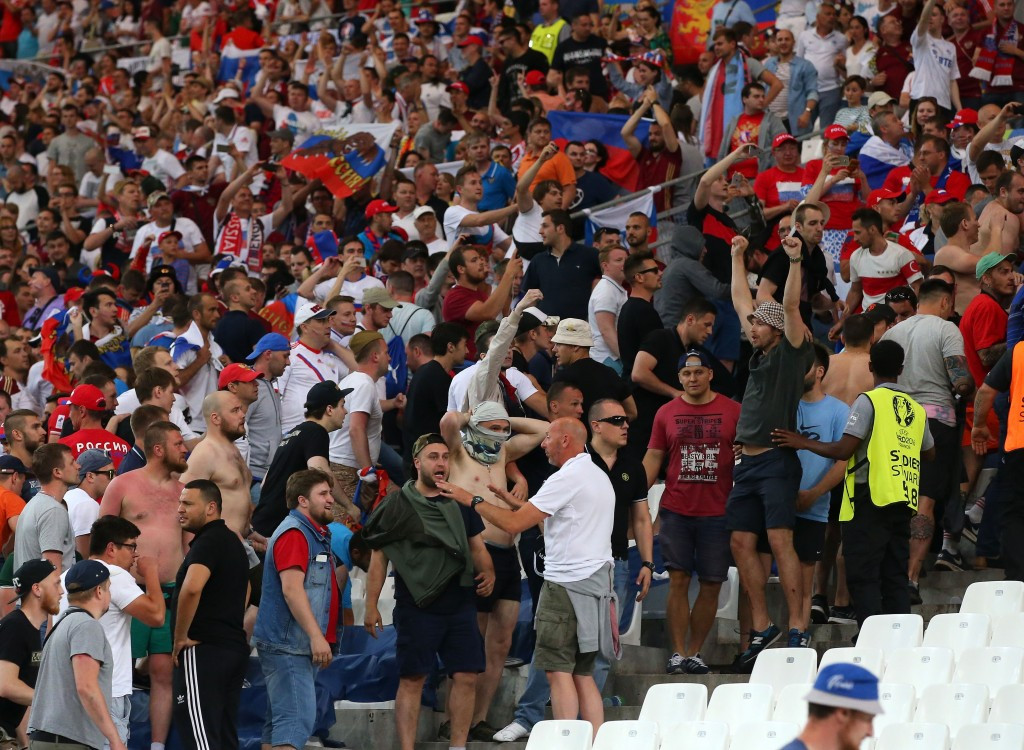 Russia handed suspended disqualification from Euro 2016 by UEFA after crowd violence