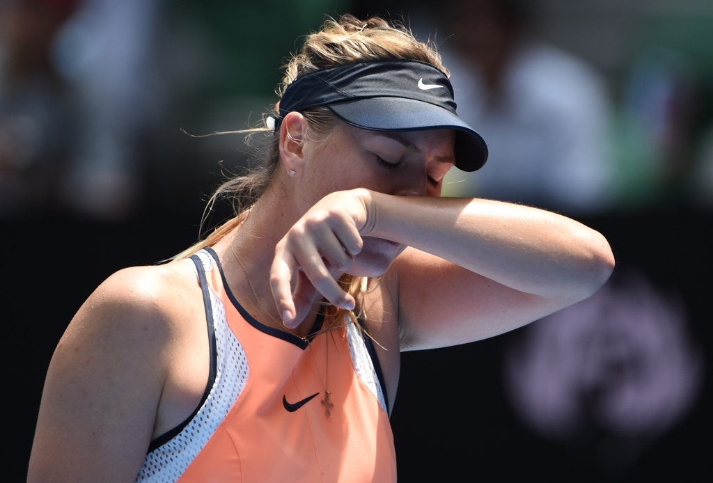 Sharapova files appeal against two-year doping ban to Court of Arbitration for Sport