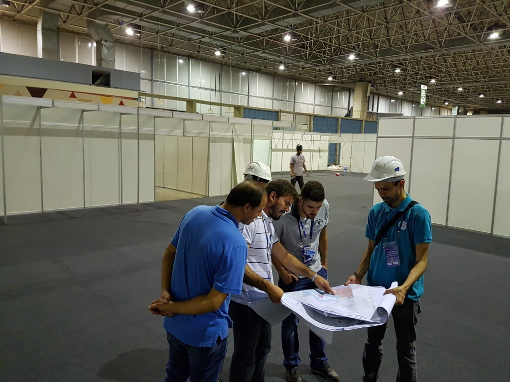 An IWF panel has inspected the Rio 2016 weightlifting venue ©IWF