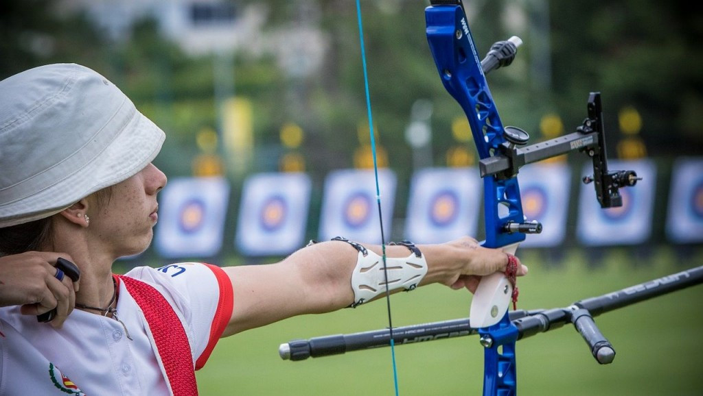 Alicia Marin earned top seeding in the women's recurve Olympic qualifier ©World Archery
