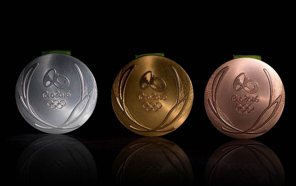Medals for the Olympic and Paralympic Games have been unveiled ©Rio 2016