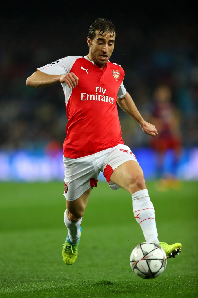Arsenal footballer Mathieu Flamini is one of the athletes on the Committee