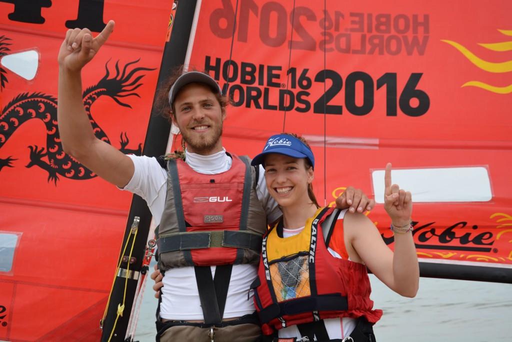 Danish duo Christensen and Frederiksen win Hobie Cat World Championships crown