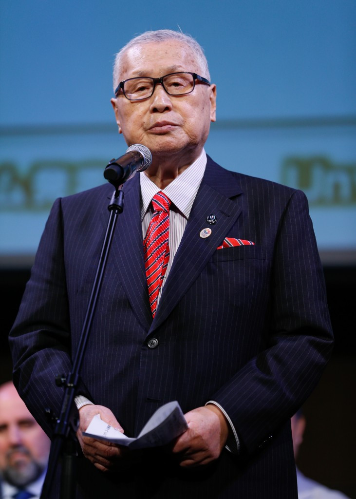 Yoshirō Mori believes the timing of the Governor's departure is