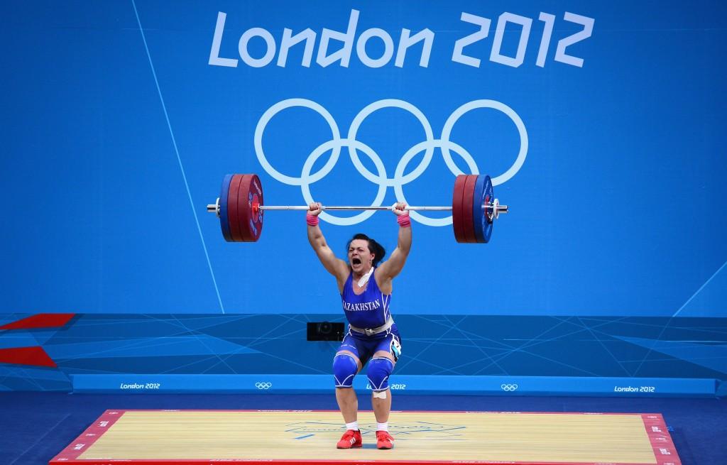 Svetlana Podobedova failed after winning the women's under 75kg gold ©Getty Images