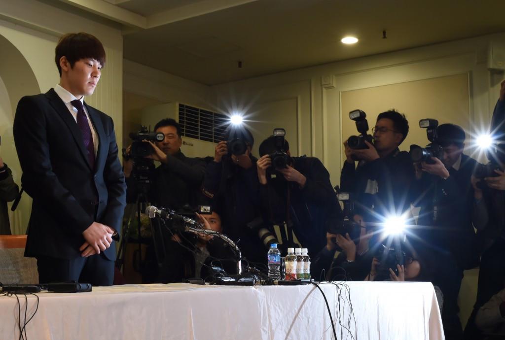 Beijing 2008 gold medallist Park Tae-hwan looks set to miss Rio 2016