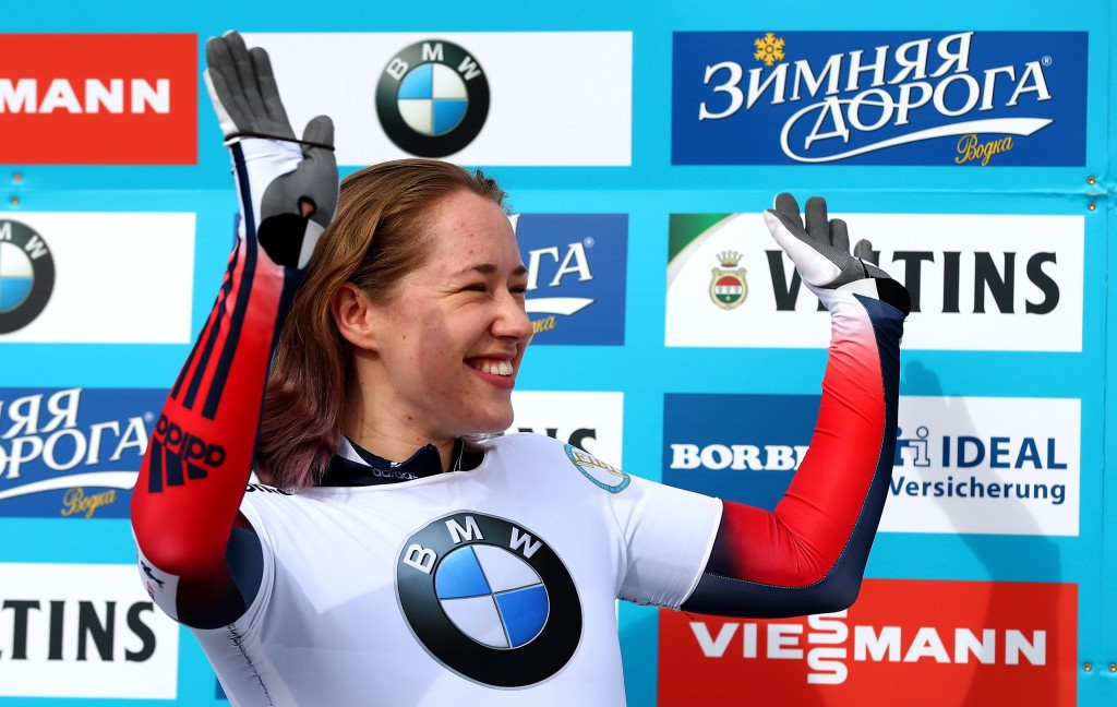 Lizzy Yarnold, the only British Olympic champion in any event at Sochi 2014, is considering boycotting the IBSF World Championships ©Getty Images