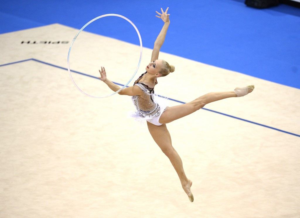 Russian star Kudryavtseva braced for European Rhythmic Gymnastics Championships all-around title defence