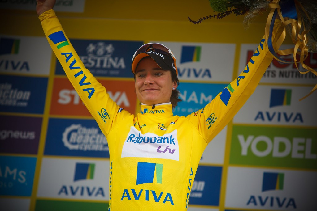 Vos claims race lead as Pieters sprints to victory at Aviva Women's Tour