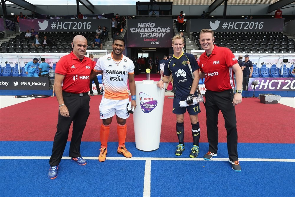 India to meet Australia in FIH Champions Trophy final