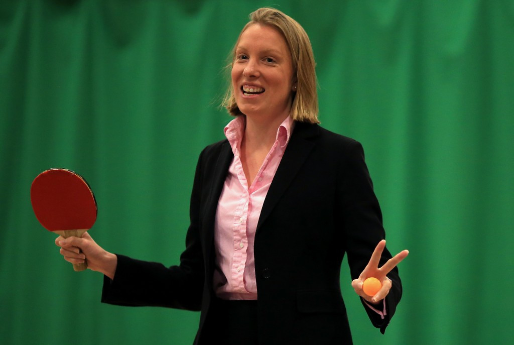 British Sports Minister Tracey Crouch has today launched a wide-ranging public consultation on sport in the United Kingdom ©Getty Images
