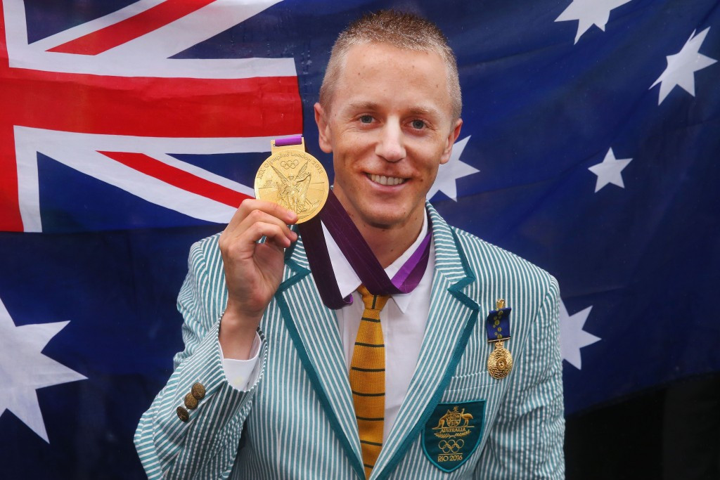 Australia's Jared Tallent has been officially given his London 2012 Olympic gold medal ©Getty Images