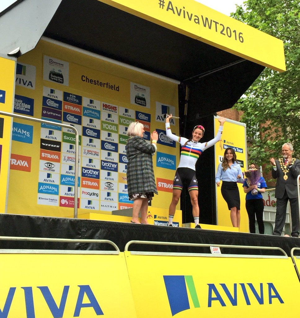 Armitstead claims overall race lead at Aviva Women's Tour after stage three victory