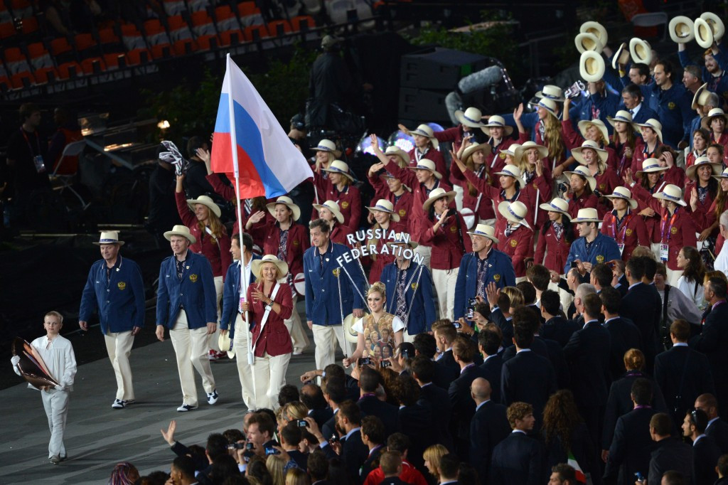 No members of the Russian athletics team are expected to compete internationally under the Russian flag ©Getty Images