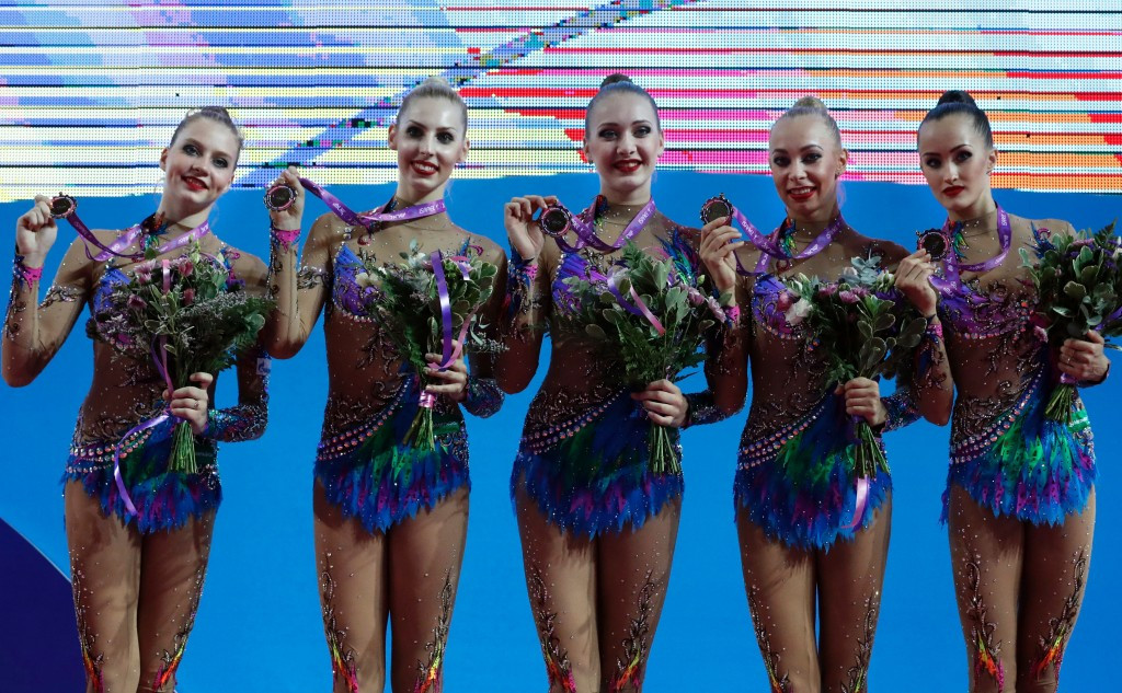 Russia clinch group title on opening day of European Rhythmic Gymnastics Championships