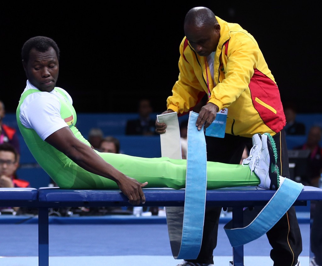 Powerlifter Charles Narh Teye has qualified for Rio ©Getty Images