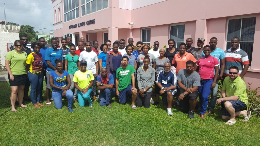 Barbados Olympic Association hold clinic for up and coming coaches