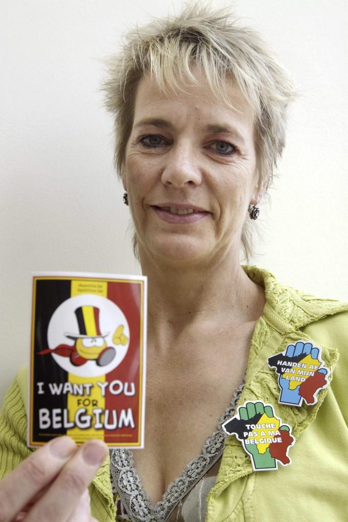 Judoka Ingrid Berghmans is a big name in Belgian sport ©Getty Images