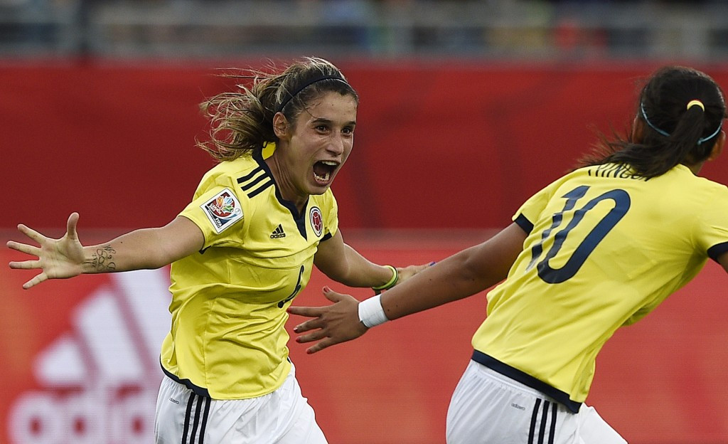 Daniela Montoya of Colombia equalised eight minutes from time to deny Mexico their first-ever World Cup victory