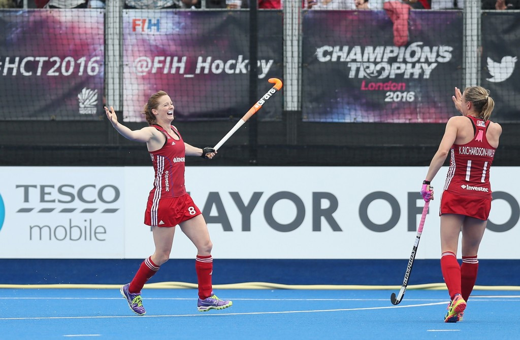 Britain battle back to claim opening draw at women's FIH Champions Trophy