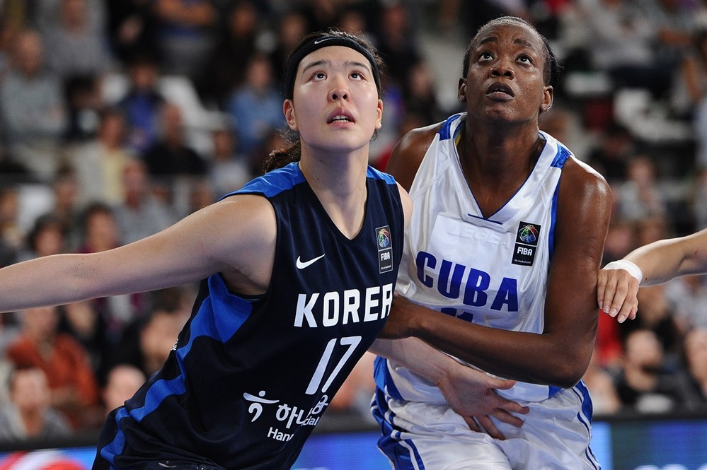 South Korea's women down Cuba to move one game away from Rio 2016 at FIBA qualifying tournament