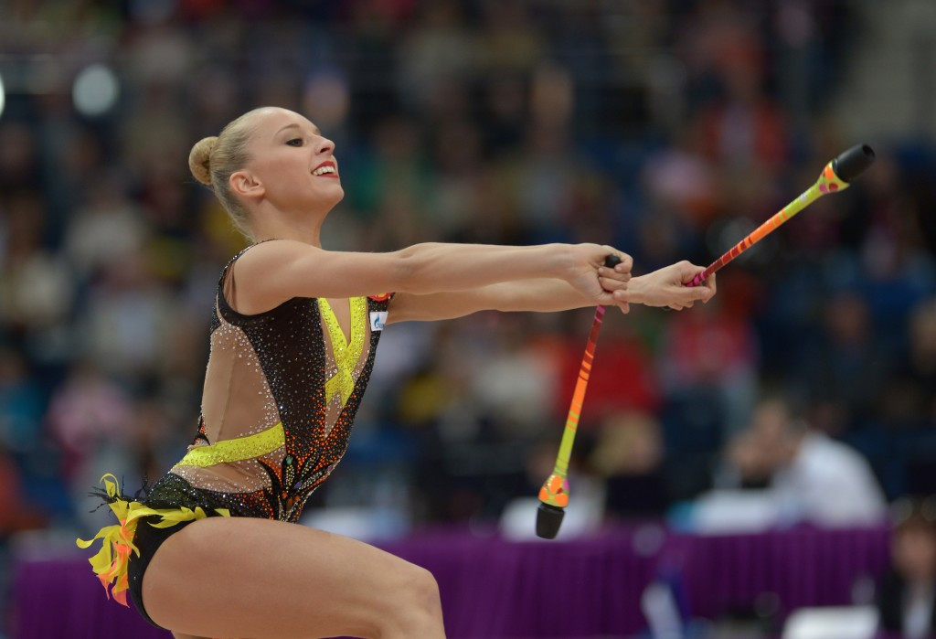 Kudryavtseva claims all-round title at European Rhythmic Gymnastics Championships