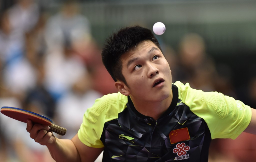 World number two Fan Zhendong claimed the men's singles title ©Getty Images
