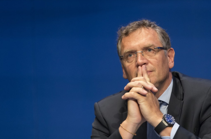 FIFA secretary general Jerome Valcke says the 2026 World Cup bid process has been postponed ©Getty Images