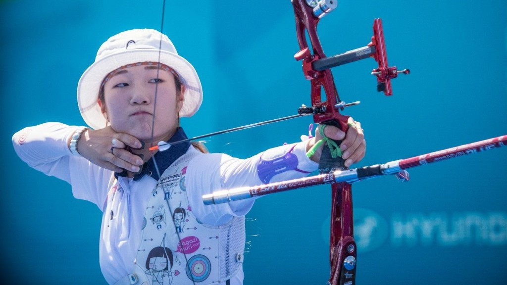 Choi secures second successive Archery World Cup golden treble in Antalya