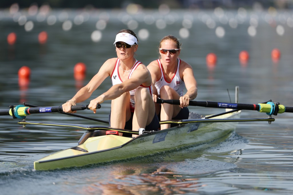 British pair achieve World Rowing Cup best time to top podium in Poznan