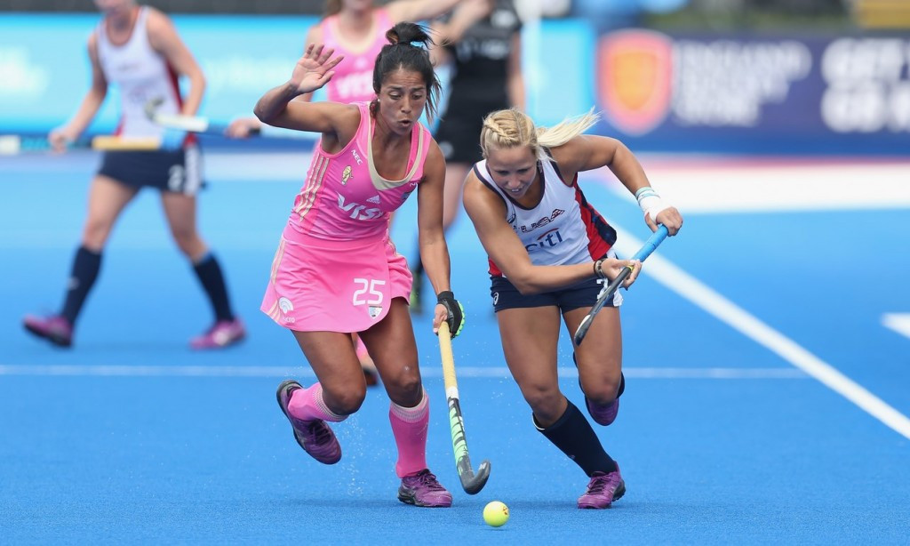 Argentina secured a comfortable victory over United States ©FIH