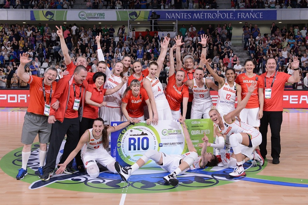 Belarus beat South Korea to claim last ticket for Rio 2016 at FIBA Women's Olympic Qualifying Tournament