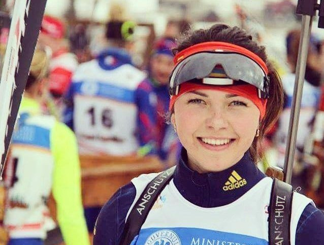 Ukranian biathlete returns home weeks after car crash