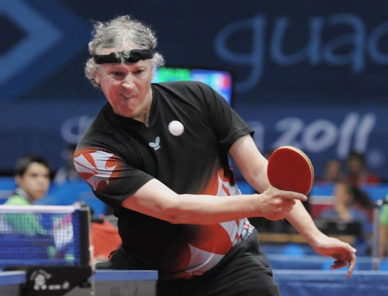 Ian Kent will be aiming to defend his C8 men's singles title in Toronto ©Canadian Paralympic Committee
