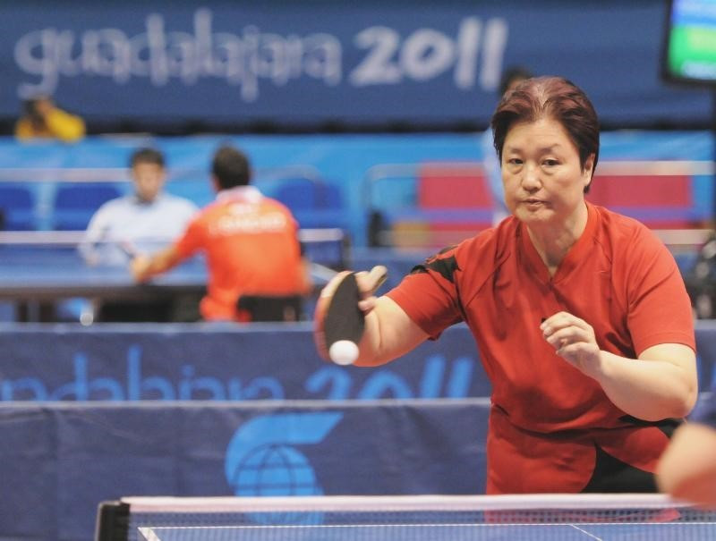 Stephanie Chan, who won silver at the 2011 Parapan American Games, will be Canada's only female table tennis player