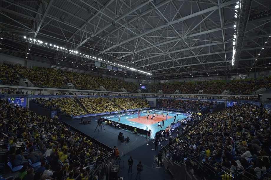 Brazil maintain winning streak in FIVB World League campaign