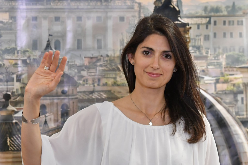 Virginia Raggi has been elected Rome's first female Mayor ©Getty Images