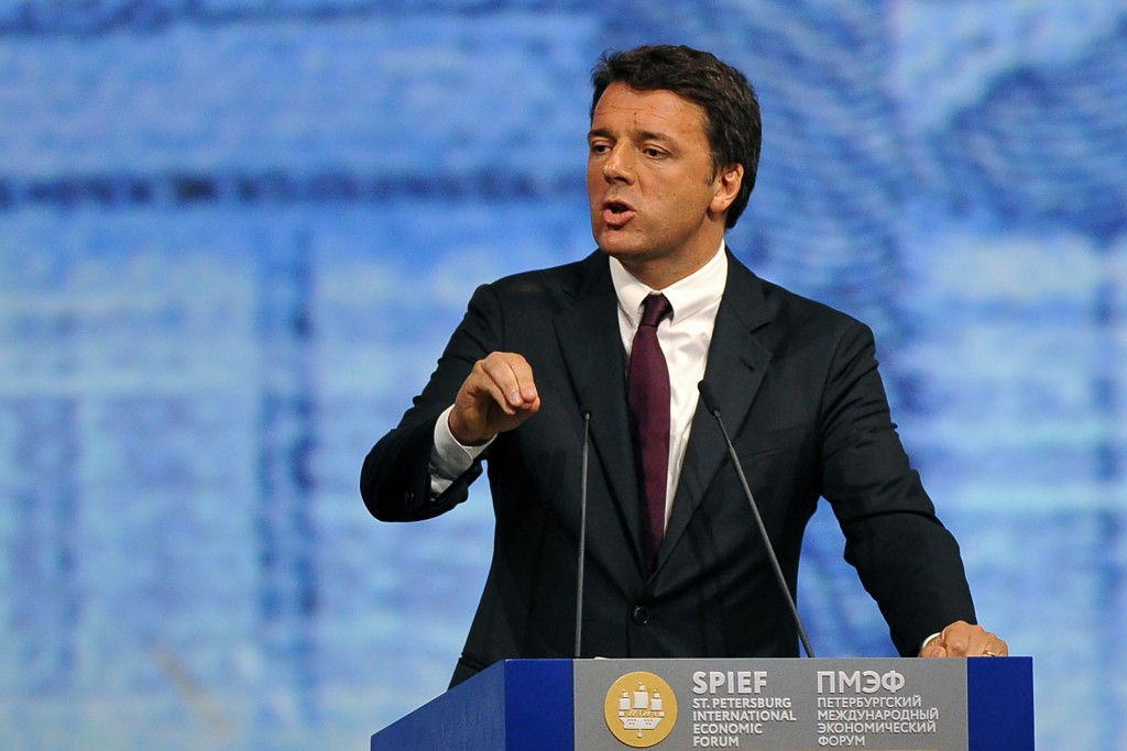 The result is a blow to Rome's pro-Olympic bid Prime Minister Matteo Renzi ©Getty Images
